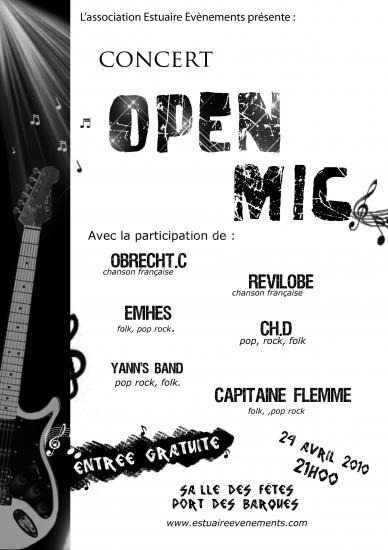 openmic avril 2010