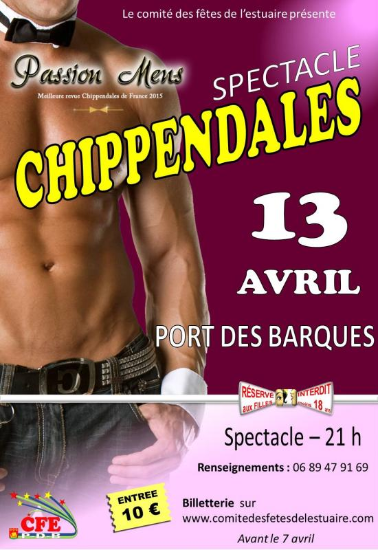 Affiche chippendales web 1