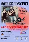 Affiche soiree concert 22 aout 1