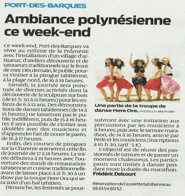 Polynesiennes sud ouest