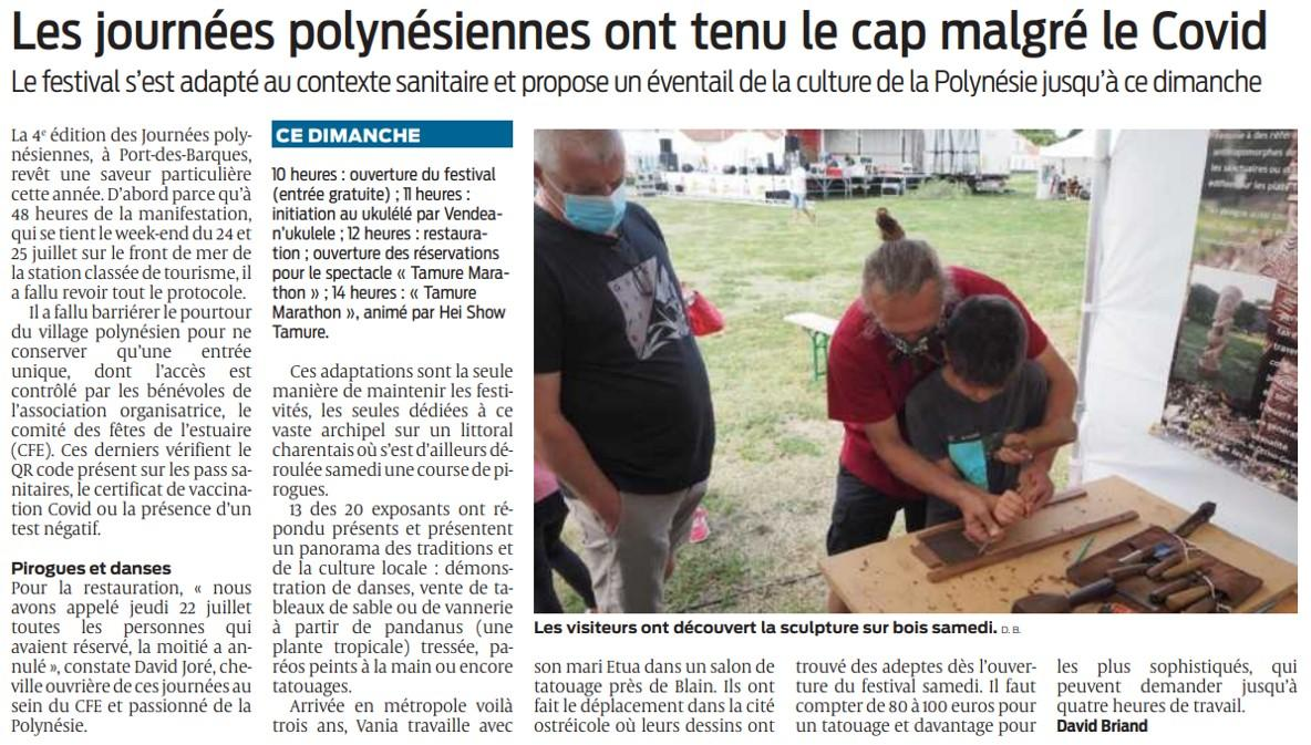 Sud ouest article